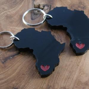 Afrika keyrings