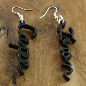 Cape + Town earrings black