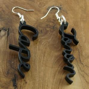 Cape + Town earrings black
