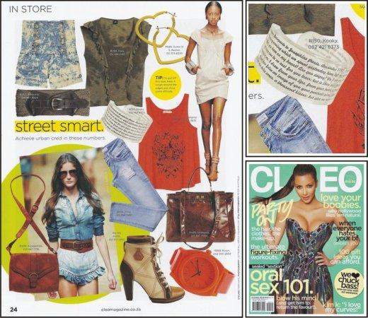 Cleo magazine Dec 2010