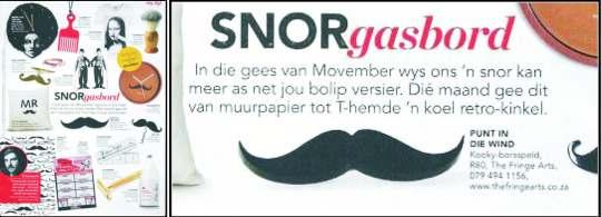 Movember 2012 Rapport