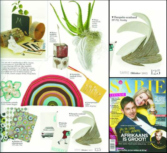Sarie magazine October 2012