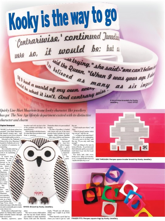 The New Age newspaper Lifestyle - 3 March 2011 (Medium)